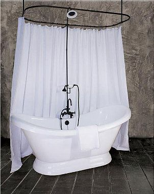 deep tub with shower. 4 Frequently Asked Questions about Soaking Tubs  1920s
