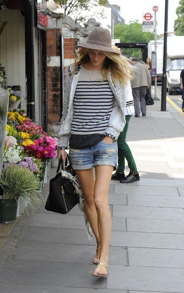 Poppy Delevingne in Chelsea... - Street Style And Fashion Ideas
