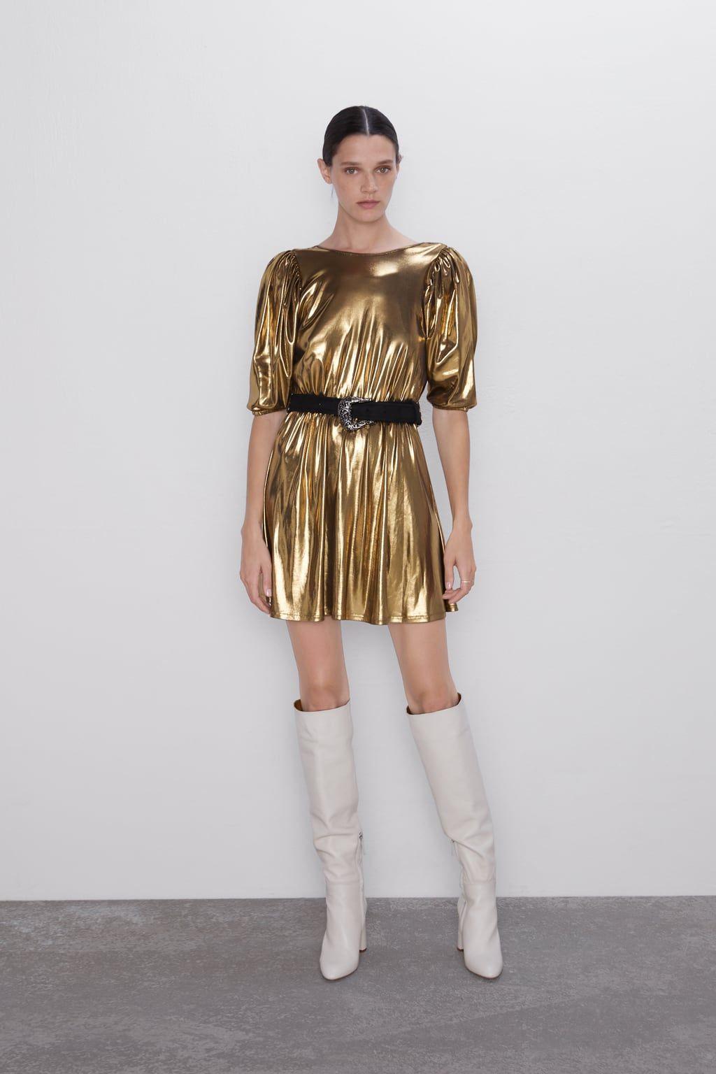 Acabadas En El Vestido Porn minikleid in metalloptik (mit bildern)   minikleid, neues kleid