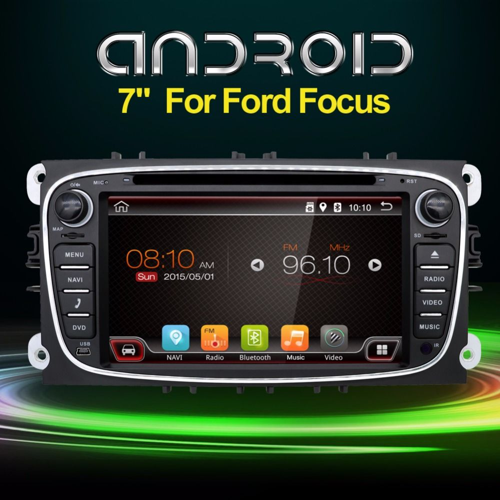 2din 7 Inch Android 6 0 Car Dvd For Ford Focus 2 Mondeo S Max 2008