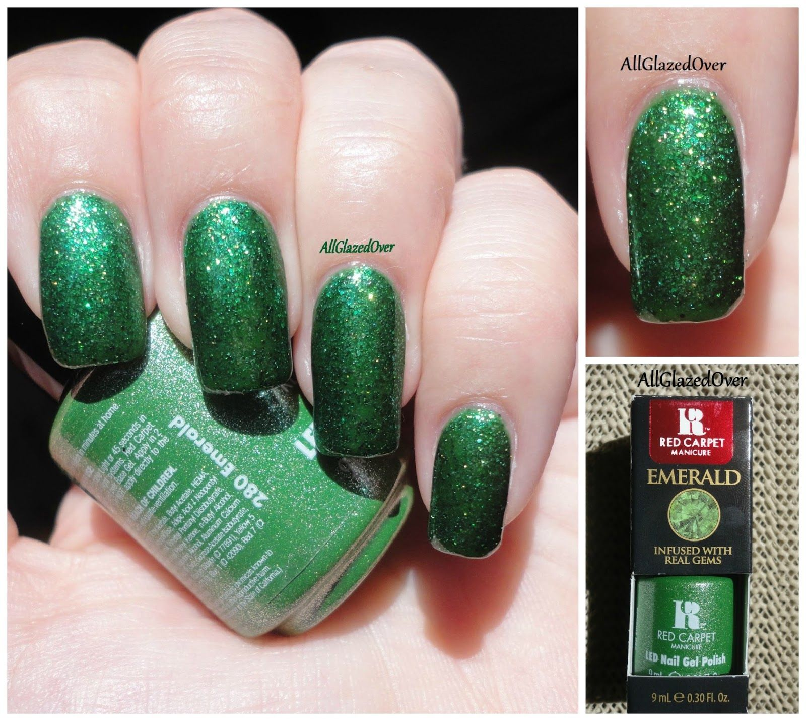 redcarpetmani Emerald | nails | Pinterest