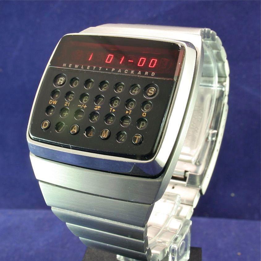 Dettagli Su Hewlett Packard HP 01 LED Calculator Digital