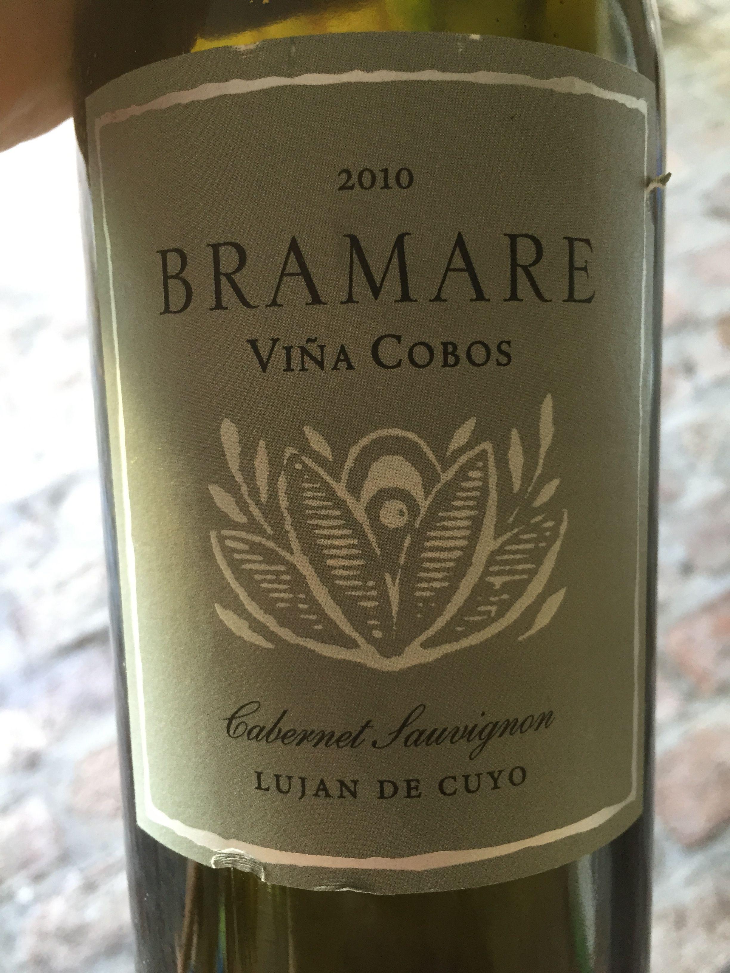 Bramare - Cabernet Sauvignon - 2010 - Viña Cobos - Mendoza, Argentina