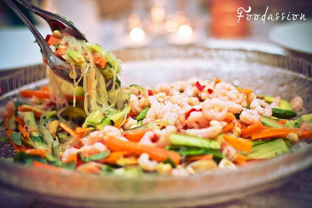 Aasialainen katkarapu-wasabisalaatti by Foodassion, via Flickr