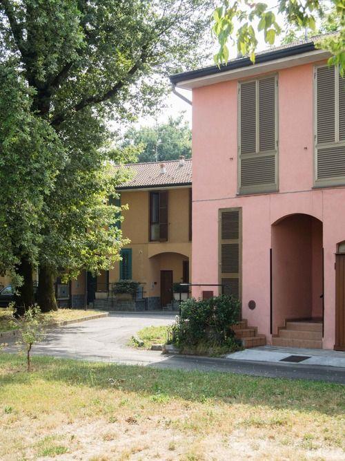 Ignazio gardella quartiere ina casa cesate 1951 for Casa borsalino gardella