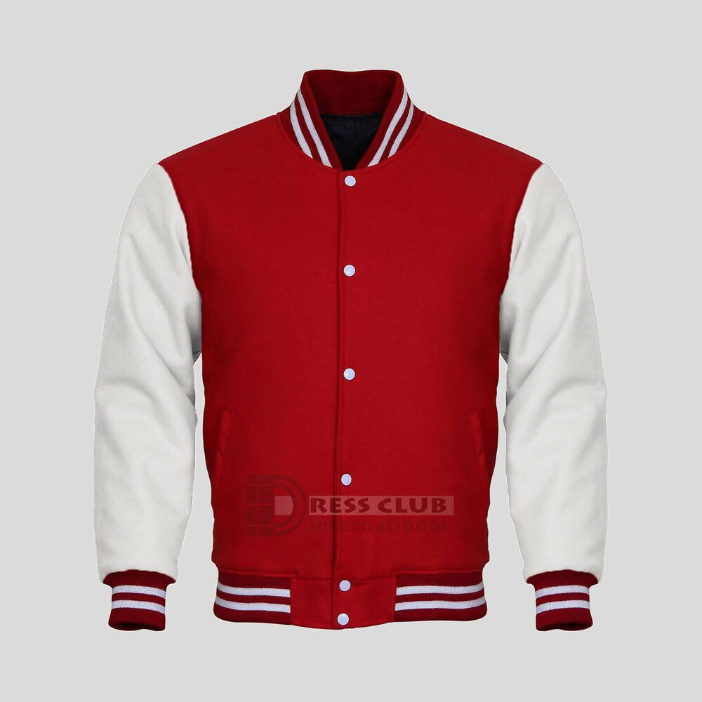 Original American Varsity Letterman College Baseball Bomber Men S Wool Jackets Dress Club Baseball Jacket Varsity Jacket College Jackets Jackets Mens Bomber