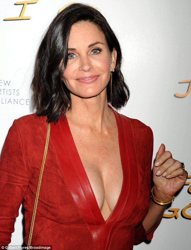Image result for courtney cox cleavage hot