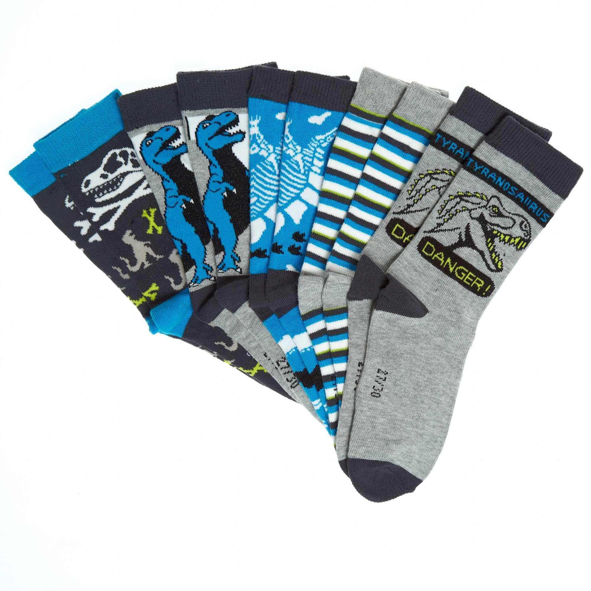Pack de 5 pares de calcetines de dinosaurios Chico - Kiabi - 7,00€
