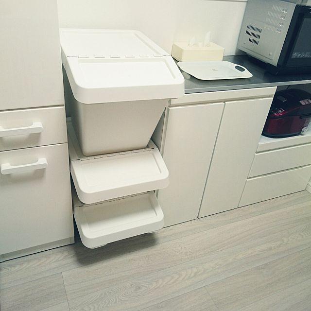キッチン すっきり暮らしたい シンプル シンプルライフ ナチュラル