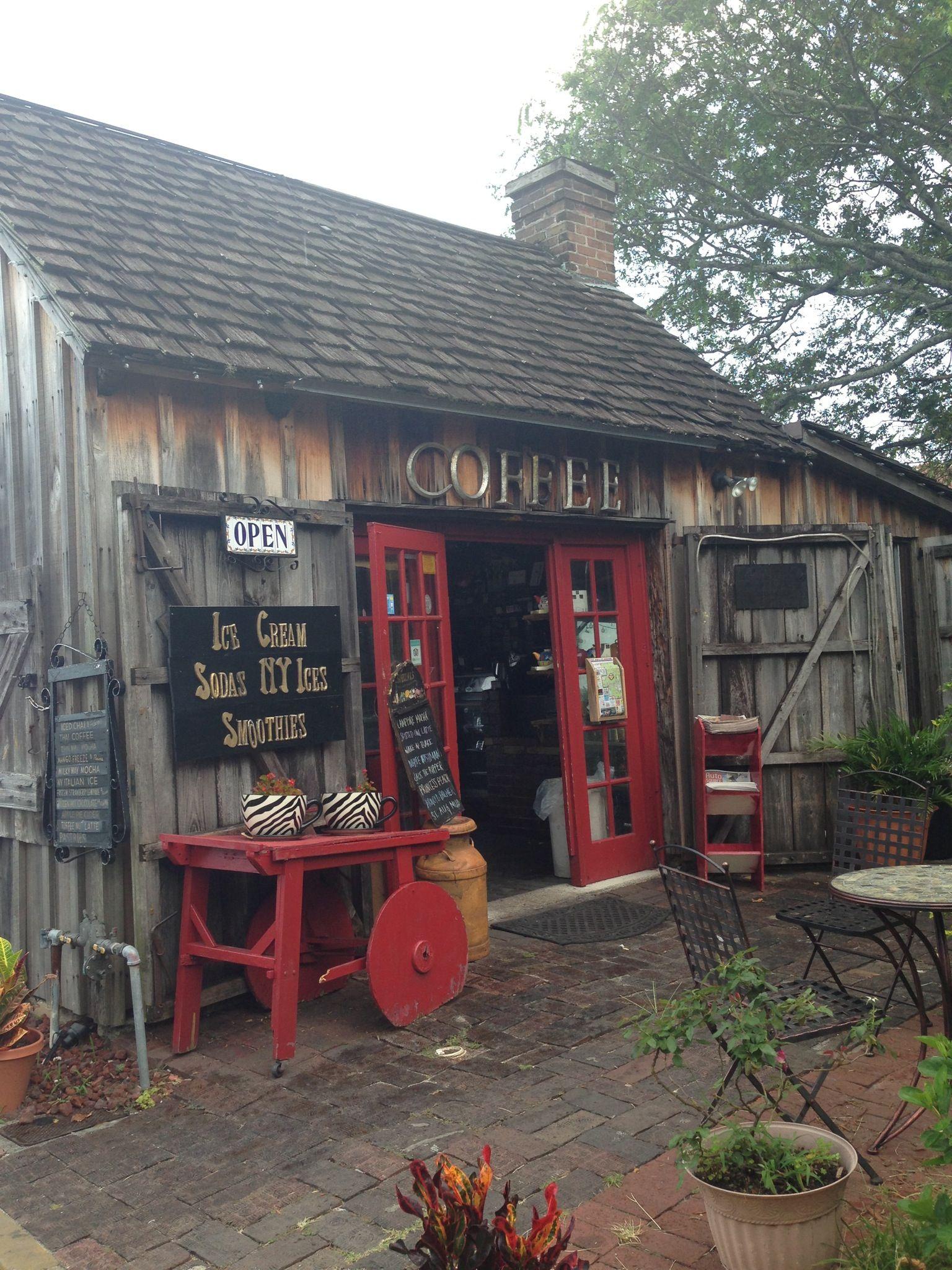 Cutest Coffee shop in Saint Augustine, Florida in 2019 | Florida travel, Palm coast florida ...