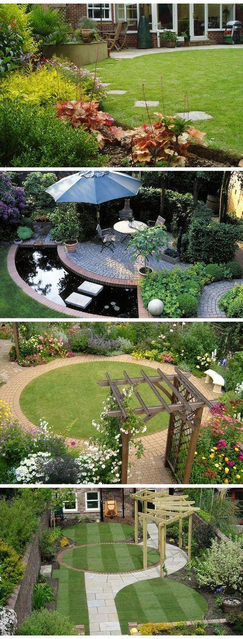 13 amazing garden landscaping ideas and designs gardening rh pinterest com