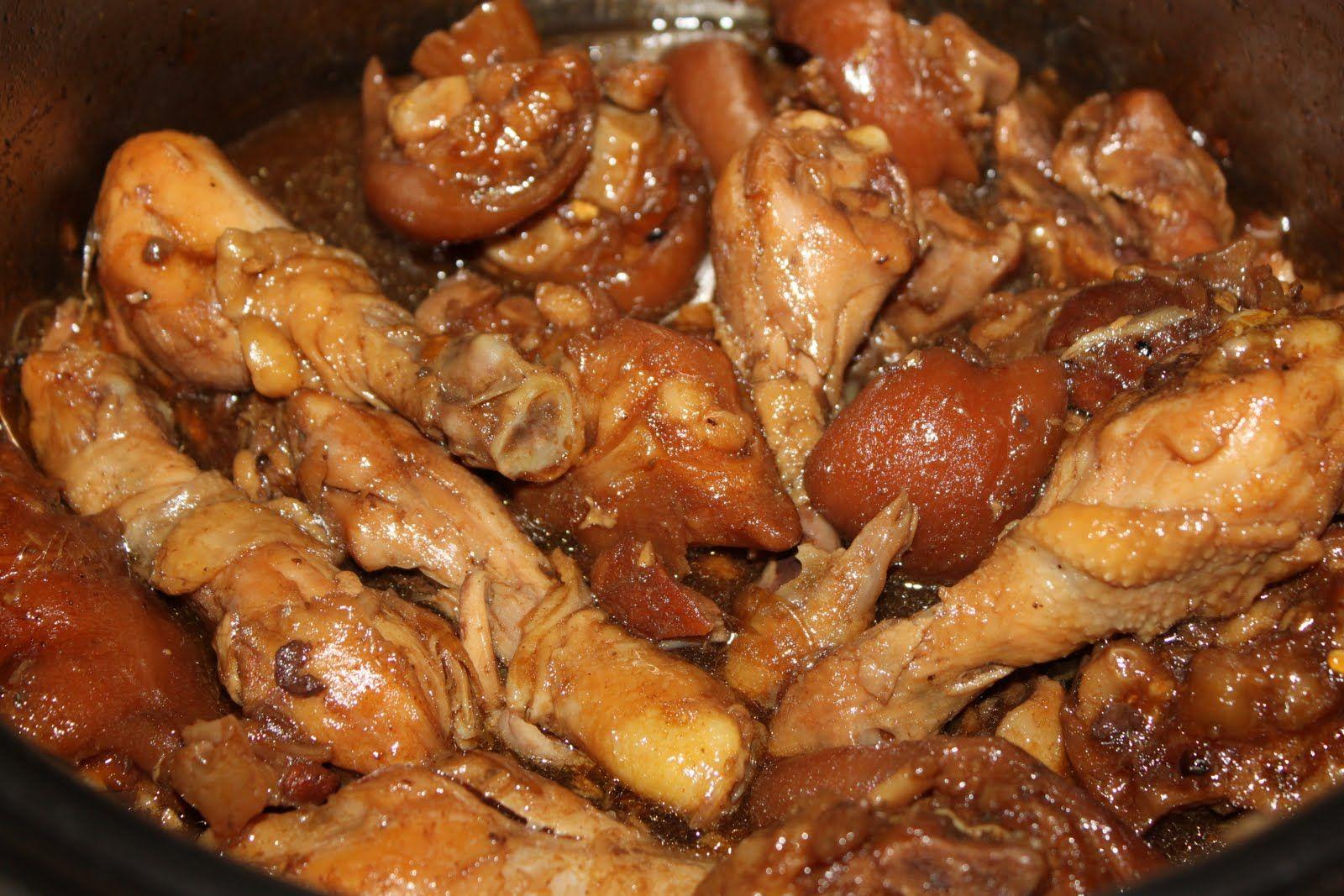 Pin On Pork Chicken Adobo