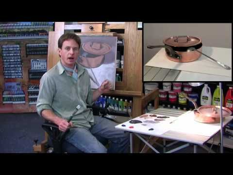 ▶ Learn to Paint with Rudy Kistler - Copper Pot - YouTube