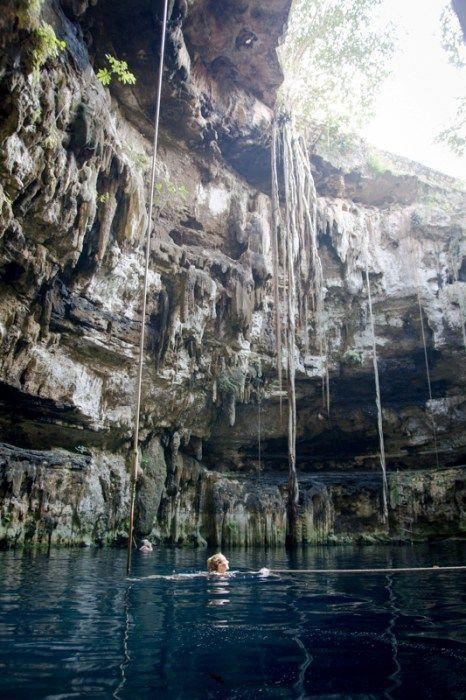 Yucatan Rundreise Tipp: Cenoten bei Valladolid