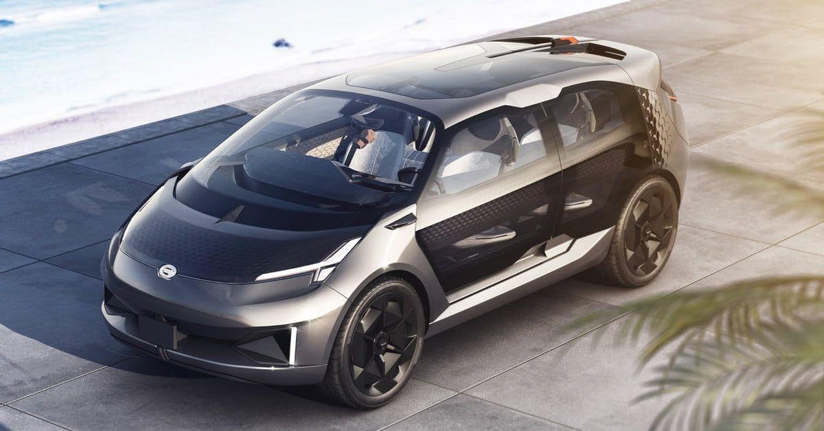 China S Gac Unveils Electric Car Concept At 2019 Detroit Auto Show