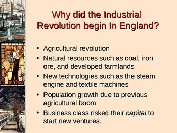 The Industrial Revolution Age Of Industry Industrial