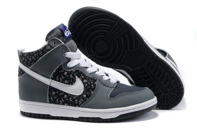 Grey Black Nike Dunk 6.0 High Top Women Shoes White. These can lift with me