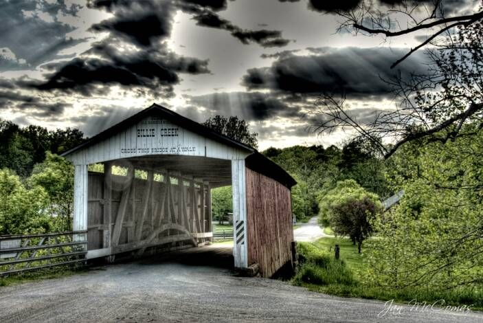 Indiana - Parke County Covered Bridges