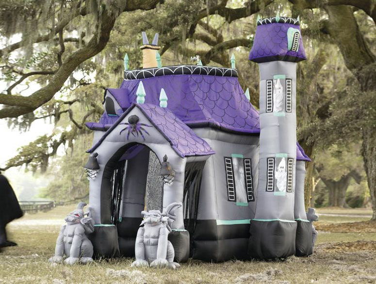 buy huge inflatable halloween castle at wish shopping made fun