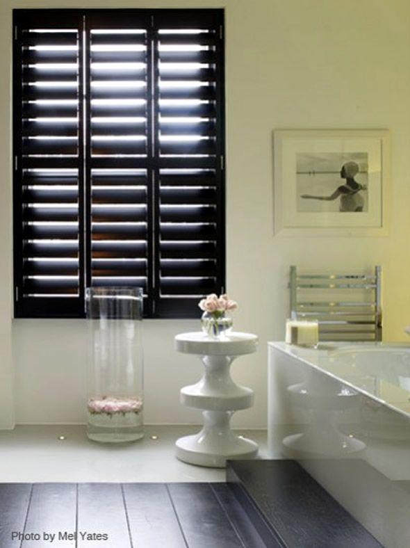 bathroom windows design. Wood Window Shutters  Cava Pinterest shutters Kelly