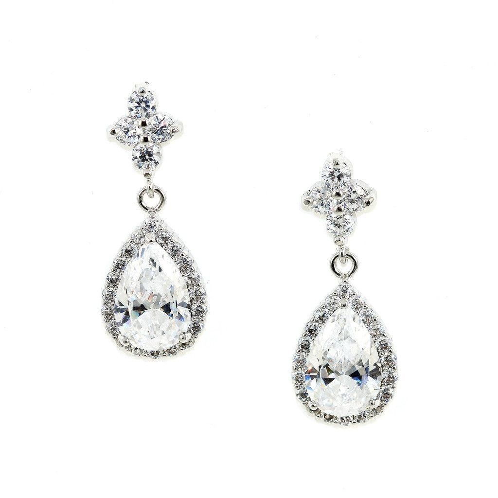Teardrop Crystal Earrings