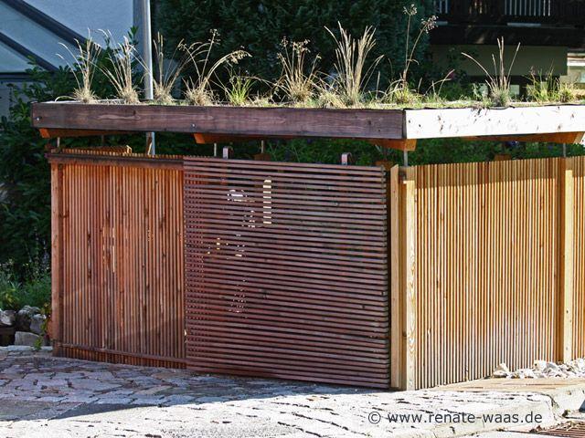 Geniesser-Garten  Gartenhaus - Geräteschuppen - Radlhaus - gartenzaun holz selber bauen