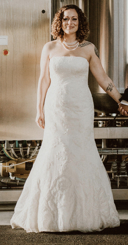 Truly Zac Posen Truly Zac Posen Strapless Lace Used Wedding Dress Save 67 Strapless Lace Wedding Dress Wedding Dresses Dresses [ jpg ]