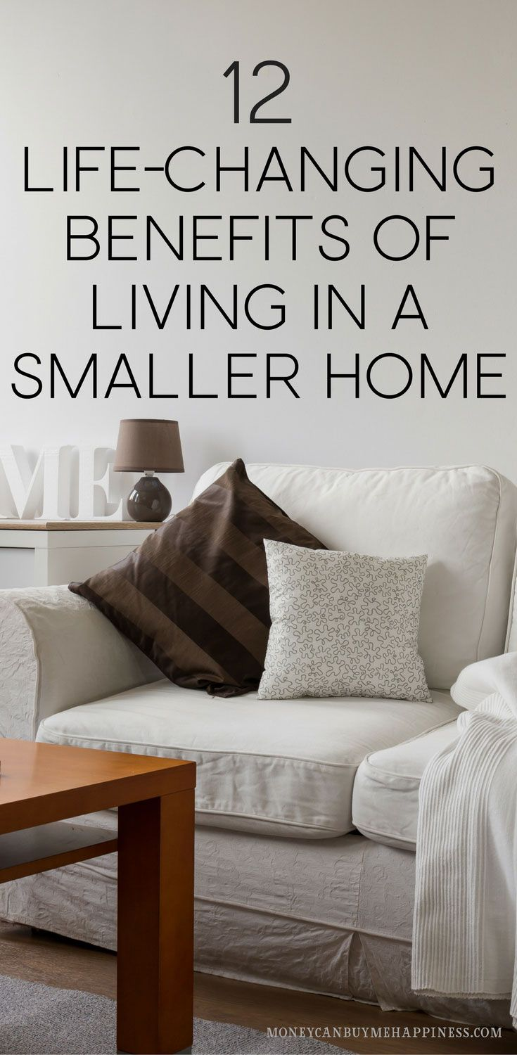 12 LifeChanging Benefits of Living in a Small House is part of Life Changing Benefits Of Living In A Small House - Living in a small house can give you more disposable income, more time for family and lower stress  Click through to find out why I love small house living