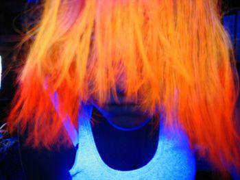 Amphigory Hi Octane Orange Uv Reactive Hair Dye