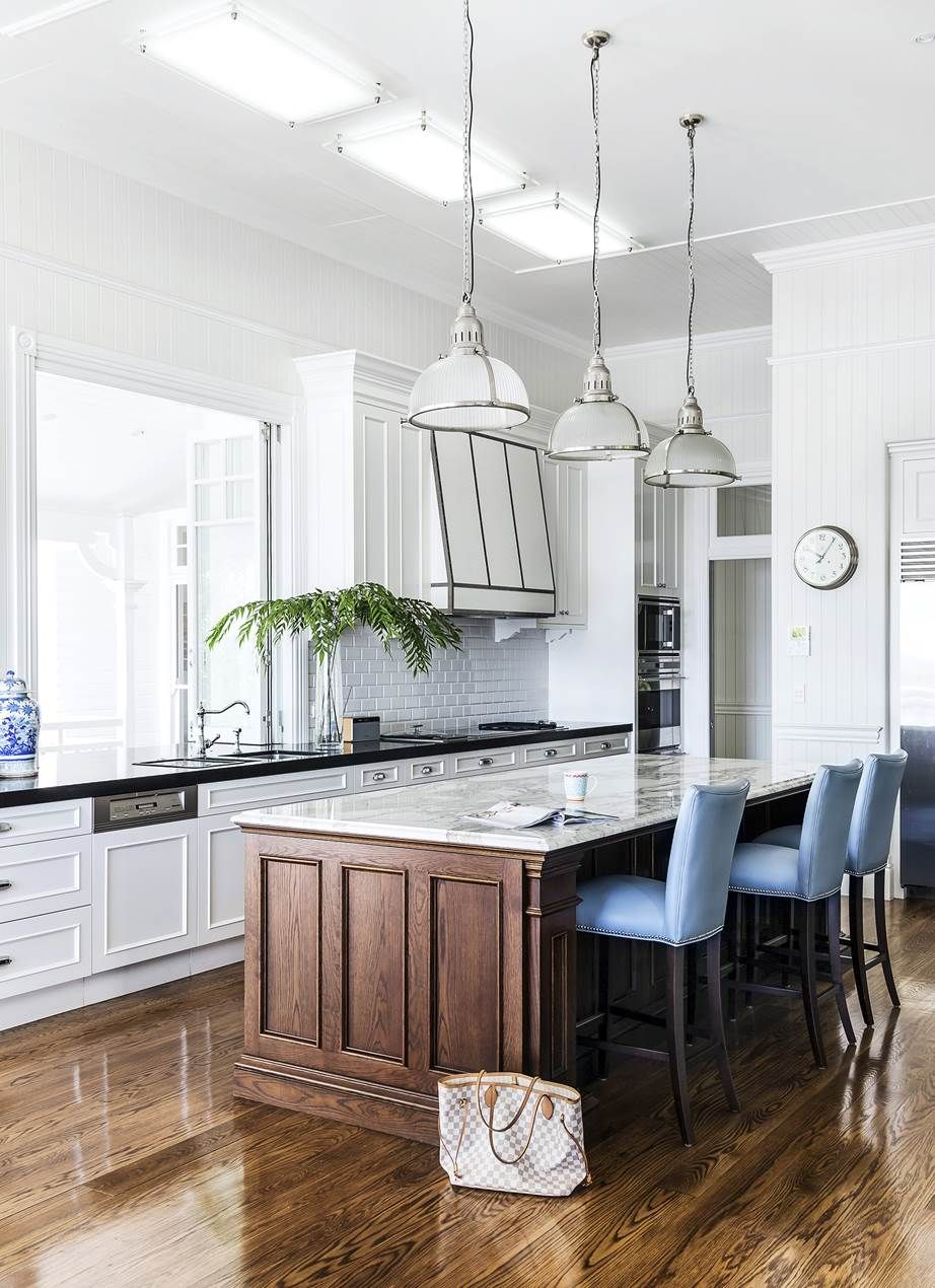 Modern Classic Kitchen Design: Classic Queenslander Updated For Family Living