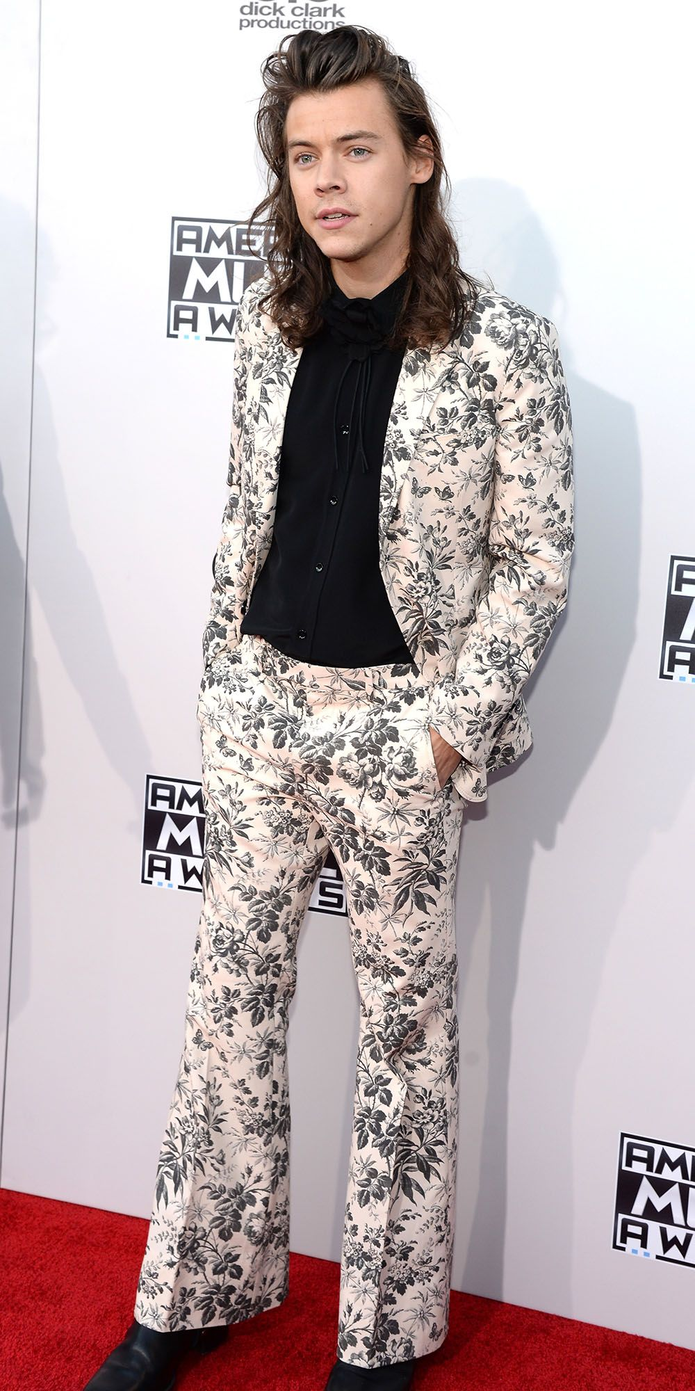 8060acddc69 The Most Sizzling Looks at the 2015 American Music Awards - Harry Styles -  from InStyle.com