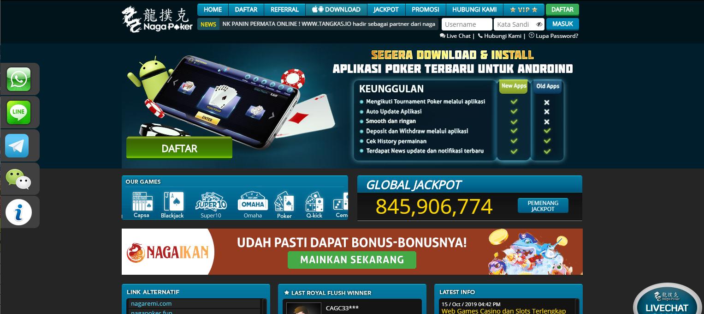 Nagapoker Poker Indonesia