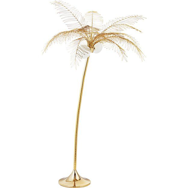 Cb2 ocean palm floor lamp pinterest tree floor lamp floor lamp shop ocean palm floor lamp a genius way to bring bright california vibes to any space from the creative minds at fred segal this whimsical palm tree mozeypictures Images