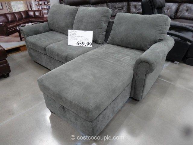 Phenomenal Pulaski Newton Convertible Sofa Costco With Storage And A Inzonedesignstudio Interior Chair Design Inzonedesignstudiocom