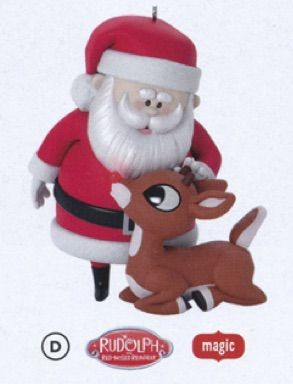 2017 wont you guide my sleigh tonight hallmark magic ornament hooked on hallmark ornaments - Hallmark Christmas Decorations 2017