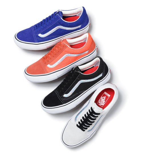 Collaboration Vans et Supreme