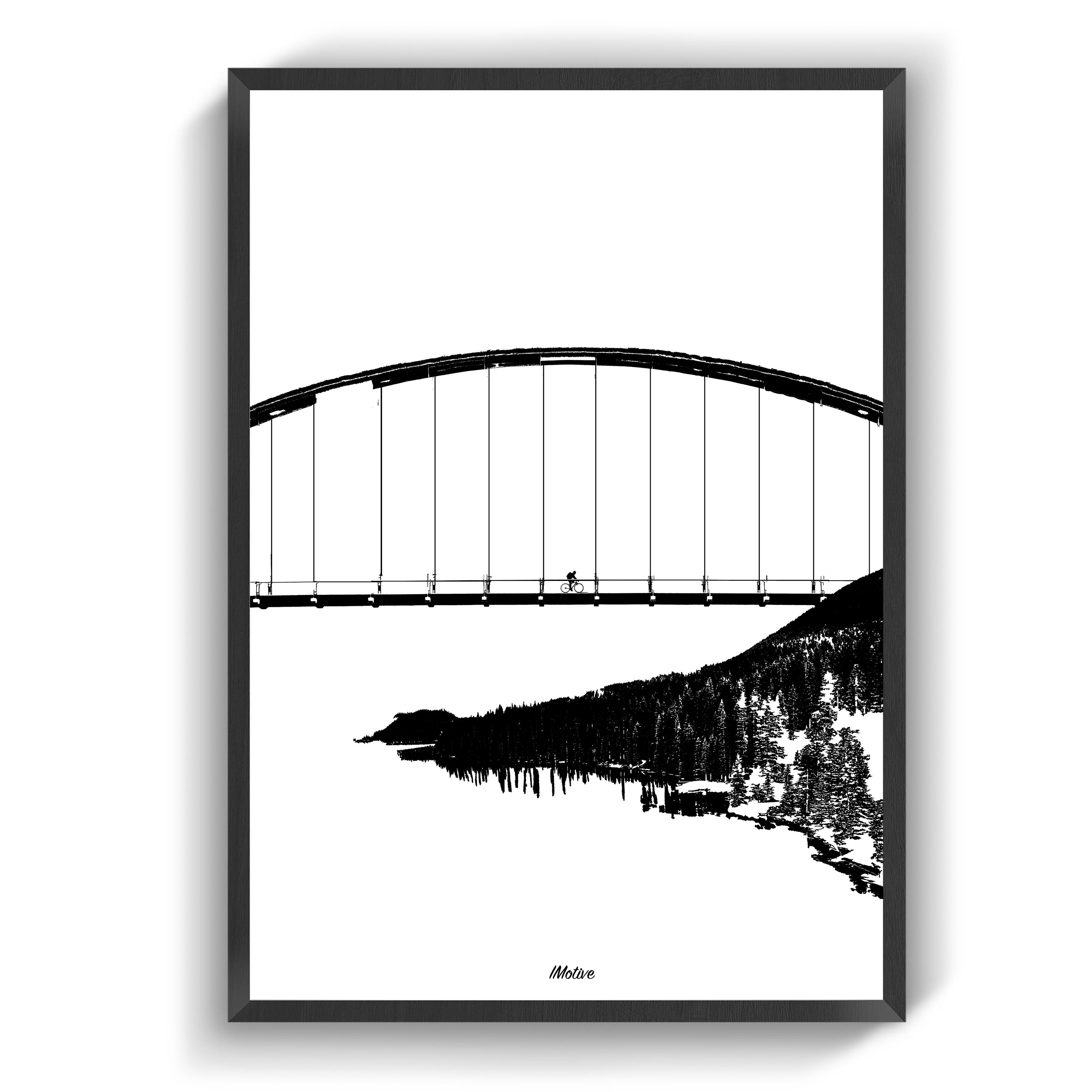 Plakater Over Broen Plakater Billeder Moderne Plakater