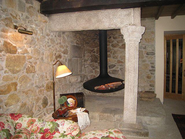 Chimenea Quento Gyrofocus En Lareira Gallega Chimeneas Cocinas De Casa Rural Cocinas De Casa