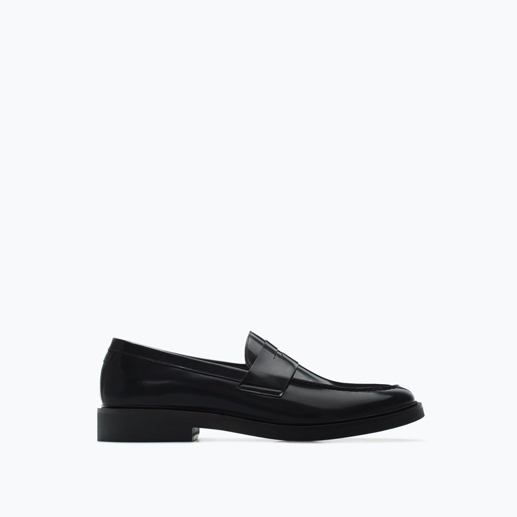 ZARA - MAN - LEATHER MOCCASINS