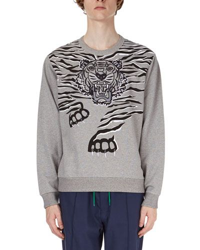 9a3d9e1be KENZO TIGER CLAW-GRAPHIC SWEATSHIRT. #kenzo #cloth # | Kenzo Men ...