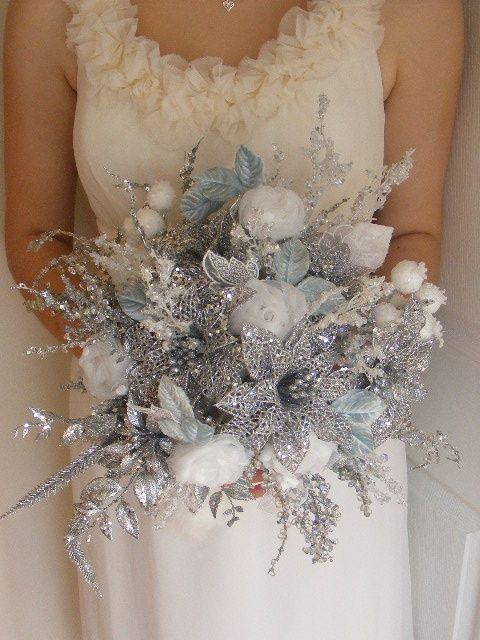 60 Adorable Winter Wonderland Wedding Ideas Silver Winter Wedding Winter Wonderland Wedding Theme Winter Wedding Bouquet
