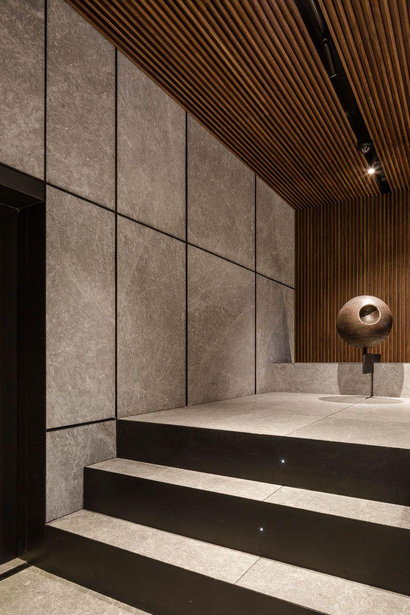 Oficinas En El Triangle Portal De Vivienda Diseño Del Hall De Entrada Diseño De Corredor