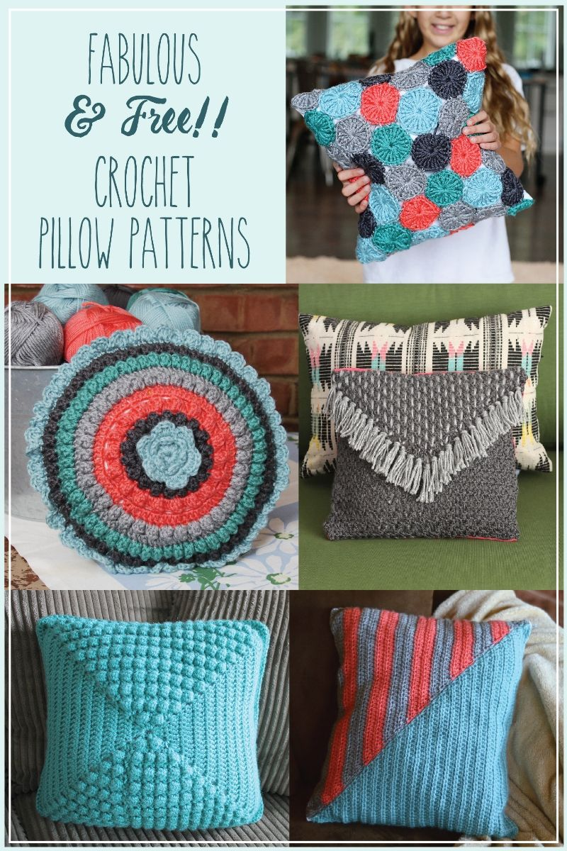 Fabulous and free crochet pillow patterns knitting and fabulous and free crochet pillow patterns bankloansurffo Image collections