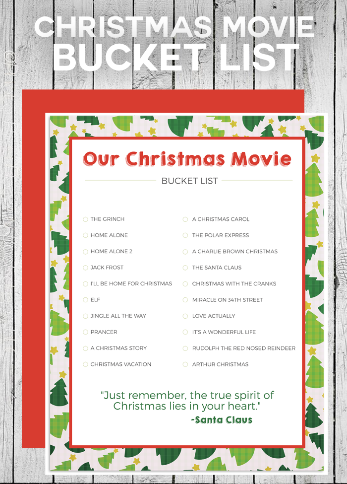 Christmas Movie Bucket List Love And Marriage Christmas Movies Christmas Bucket Christmas Science