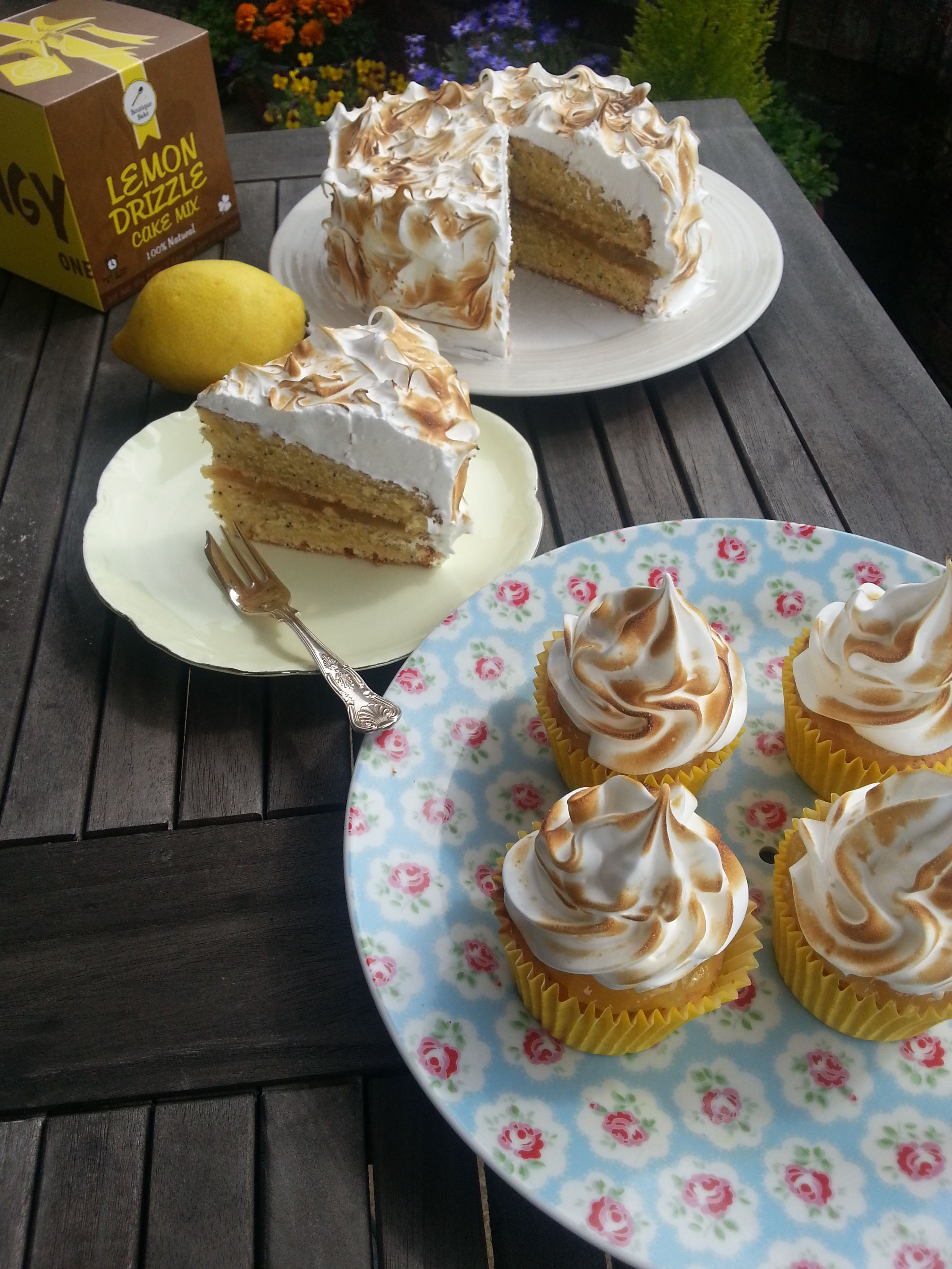 Lemon Meringue Cake by Boutique Bake