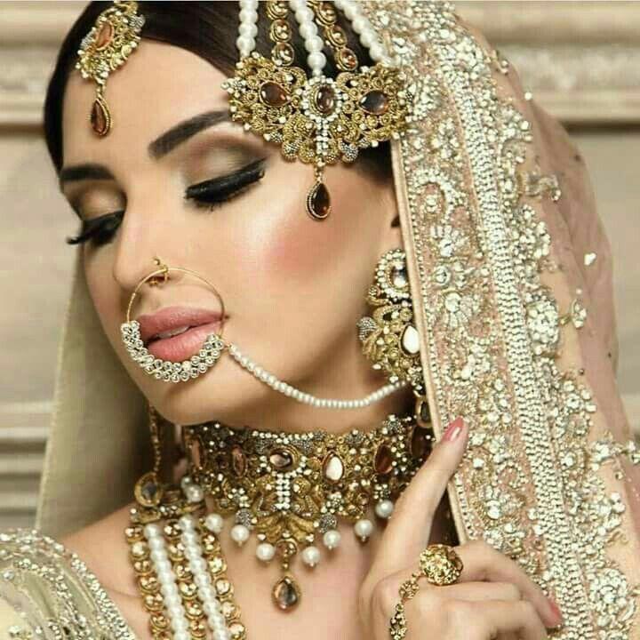 Indian Bridal Jewellery: Asian Bridal Makeup