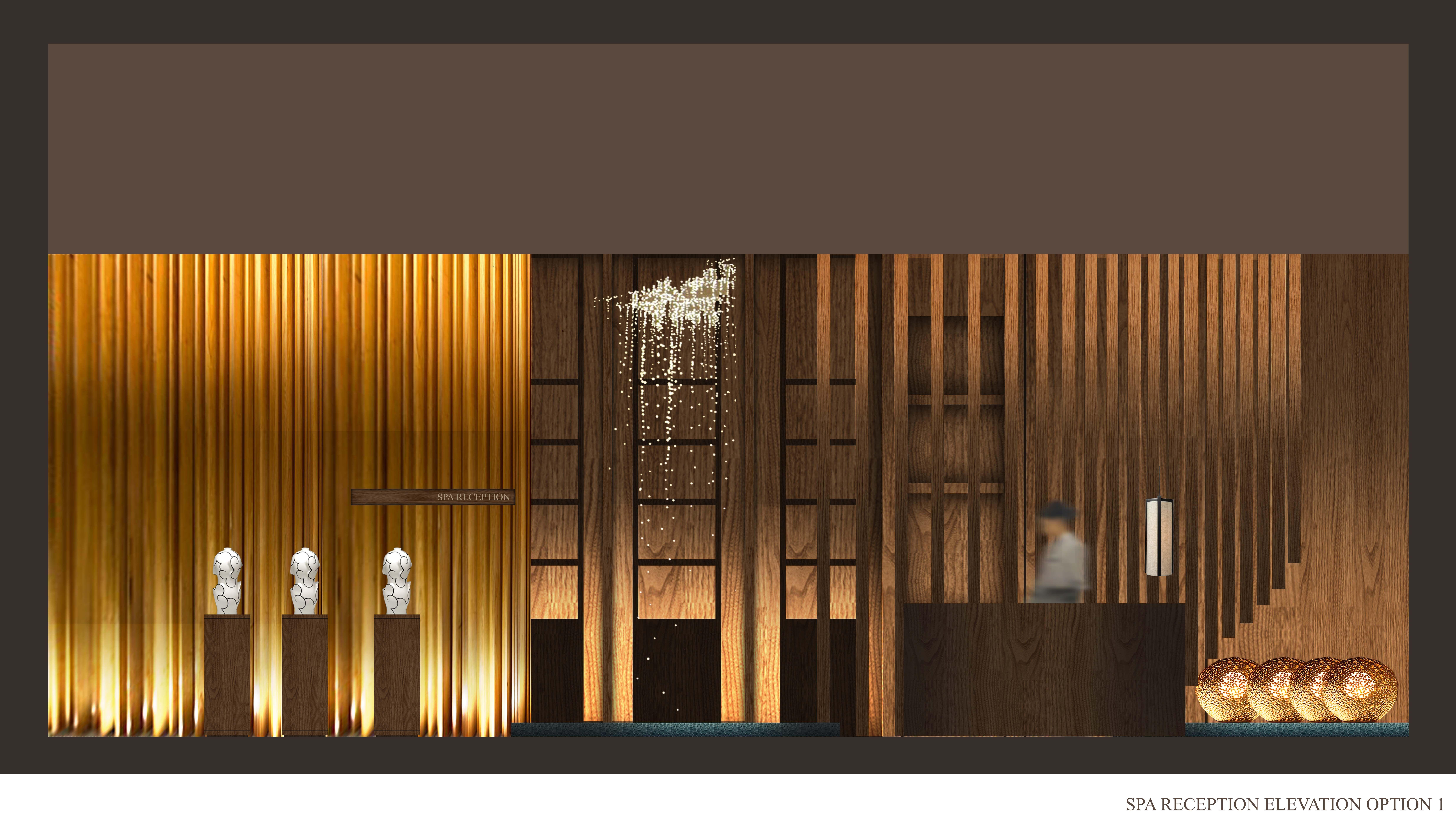 Merge Design Concept Hospital Interior Design Hotel Interior