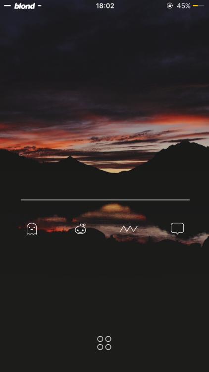 [Release] Single Line iWidget via /r/iOSthemes...