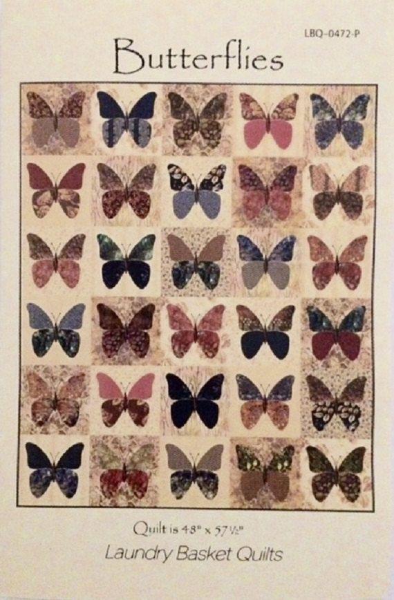 Butterflies Quilt Pattern - Edyta Sitar - Laundry Basket Quilts ... : butterflies quilt - Adamdwight.com