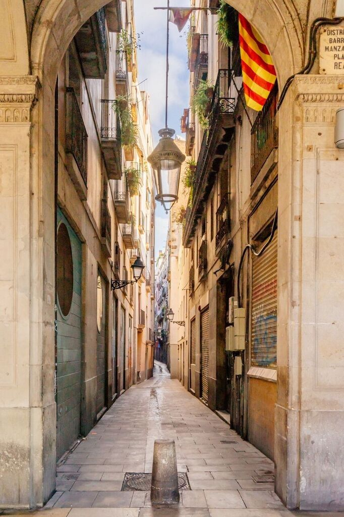 Explore Barcelona S Narrow Streets On A Walking Tour Experiencing City Highlights Such As The Stunning Ocean Cruise Cruise Destinations Western Mediterranean